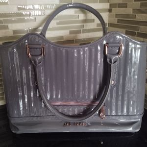Ted Baker Patent Leather Tote